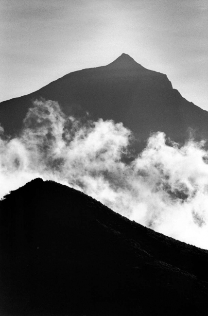 From the heart of the volcano